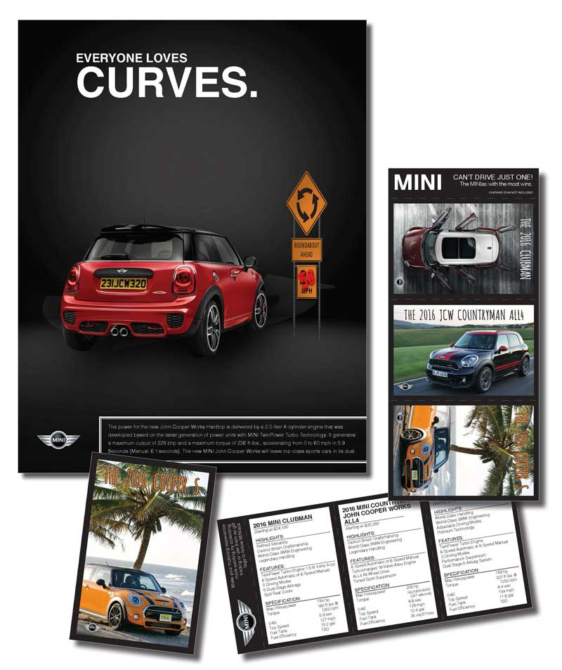 mini marketing ad package