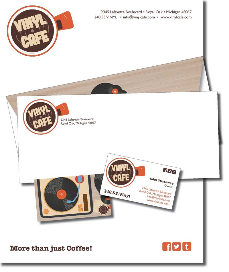 vinyl cafe package